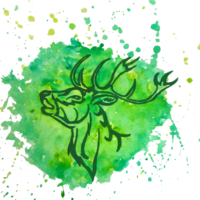 Temple Stag logo